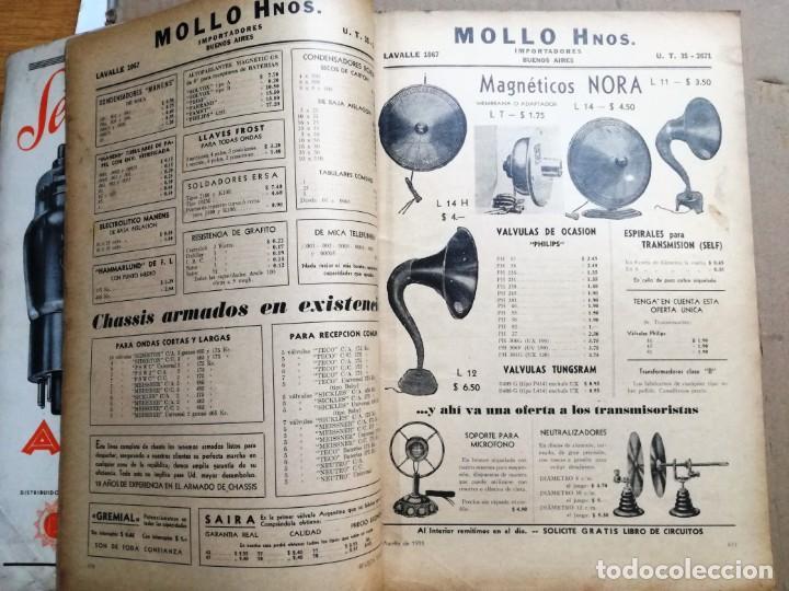 Radios antiguas: REVISTA TELEGRAFICA AGOSTO DE 1935.MUCHOS ANUNCIOS DE LA EPOCA. - Foto 7 - 133797774