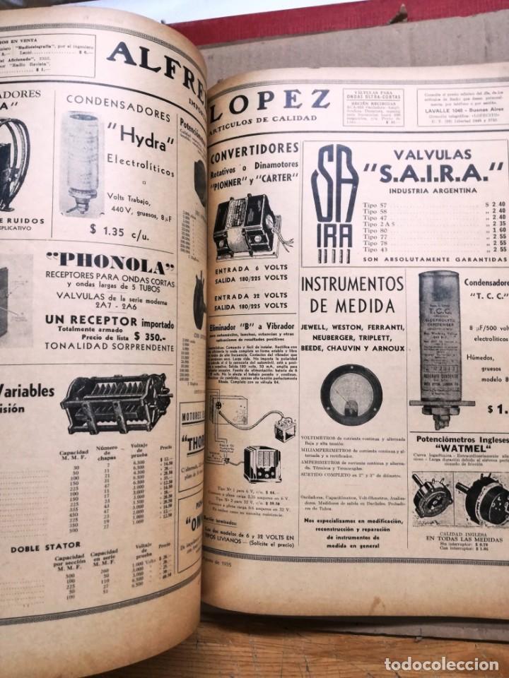 Radios antiguas: REVISTA TELEGRAFICA AGOSTO DE 1935.MUCHOS ANUNCIOS DE LA EPOCA. - Foto 9 - 133797774