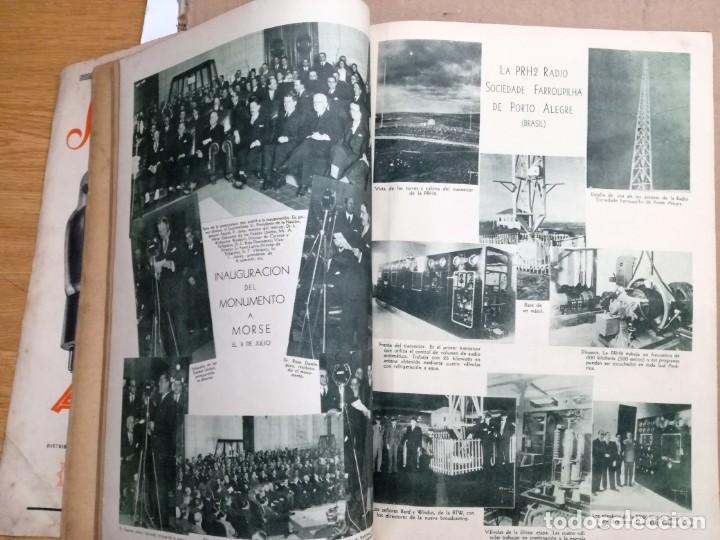 Radios antiguas: REVISTA TELEGRAFICA AGOSTO DE 1935.MUCHOS ANUNCIOS DE LA EPOCA. - Foto 10 - 133797774