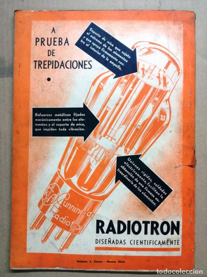 Radios antiguas: REVISTA TELEGRAFICA AGOSTO DE 1935.MUCHOS ANUNCIOS DE LA EPOCA. - Foto 11 - 133797774