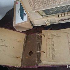 Radios antiguas: LIBRO DE ESQUEMAS RADIOS EUROPEAS ANTIGUAS INGENIEROS MHARCOR SAN SEBASTIÁN . Lote 134382206