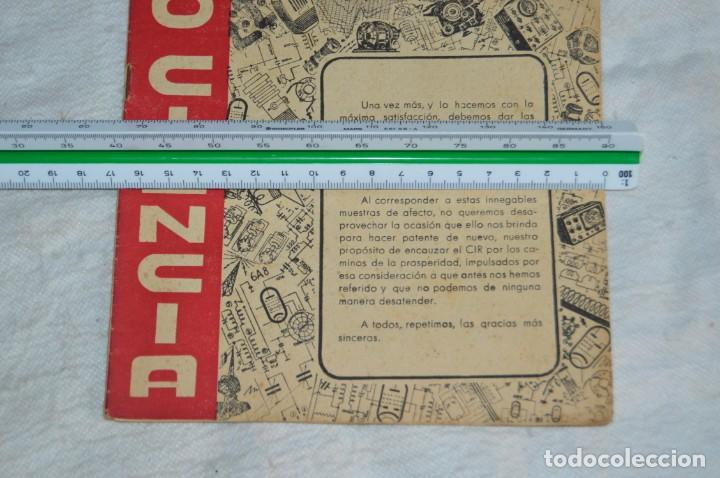 Radios antiguas: LOTE 5 REVISTAS RADIO CIENCIA - 11, 12, 13, 16 Y 18 - MULTITUD DE EXPERIMENTOS Y ESQUEMAS - ENVÍO24H - Foto 5 - 134751030