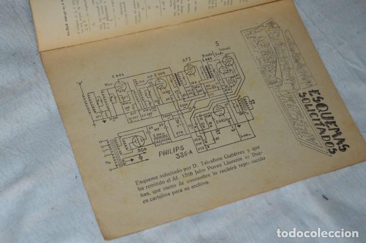 Radios antiguas: LOTE 5 REVISTAS RADIO CIENCIA - 11, 12, 13, 16 Y 18 - MULTITUD DE EXPERIMENTOS Y ESQUEMAS - ENVÍO24H - Foto 6 - 134751030