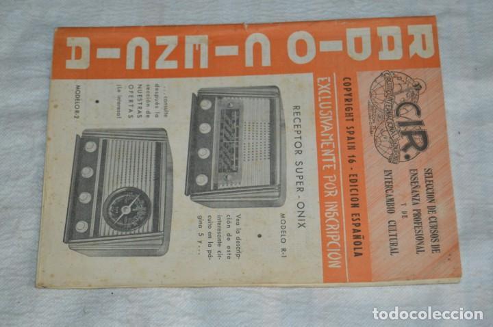 Radios antiguas: LOTE 5 REVISTAS RADIO CIENCIA - 11, 12, 13, 16 Y 18 - MULTITUD DE EXPERIMENTOS Y ESQUEMAS - ENVÍO24H - Foto 8 - 134751030