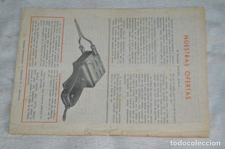 Radios antiguas: LOTE 5 REVISTAS RADIO CIENCIA - 11, 12, 13, 16 Y 18 - MULTITUD DE EXPERIMENTOS Y ESQUEMAS - ENVÍO24H - Foto 9 - 134751030