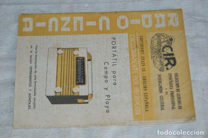 Radios antiguas: LOTE 5 REVISTAS RADIO CIENCIA - 11, 12, 13, 16 Y 18 - MULTITUD DE EXPERIMENTOS Y ESQUEMAS - ENVÍO24H - Foto 10 - 134751030