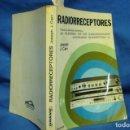 Radios antiguas: RADIORRECEPTORES - JOSEPH / J. CARR - PARANINFO 1ª EDICIÓN 1983. Lote 135318814