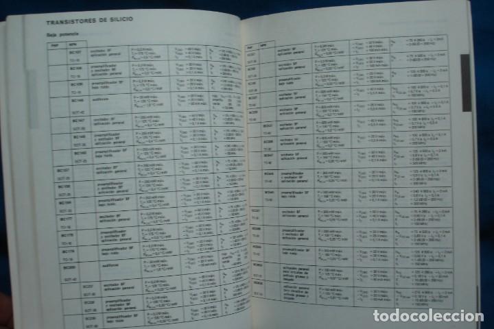 Radios antiguas: SEMICONDUCTORES - MINIWATT - ECO PALMA 1ª ED. 1973 - Foto 3 - 135360730