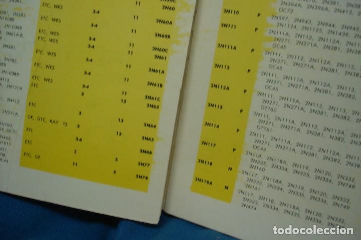 Radios antiguas: 40000 TRANSISTOR - ED. FABELL ROMA - INTRODUCCIÓN EN ITALIANO - 2ª EDICIÓN - Foto 3 - 135950126