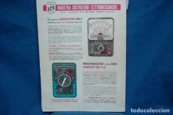 Radios antiguas: 40000 TRANSISTOR - ED. FABELL ROMA - INTRODUCCIÓN EN ITALIANO - 2ª EDICIÓN - Foto 5 - 135950126