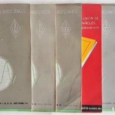 Radios antiguas: LOTE 7 REVISTAS RADIOAFICIONADOS URE AÑO 1961. Lote 136273614