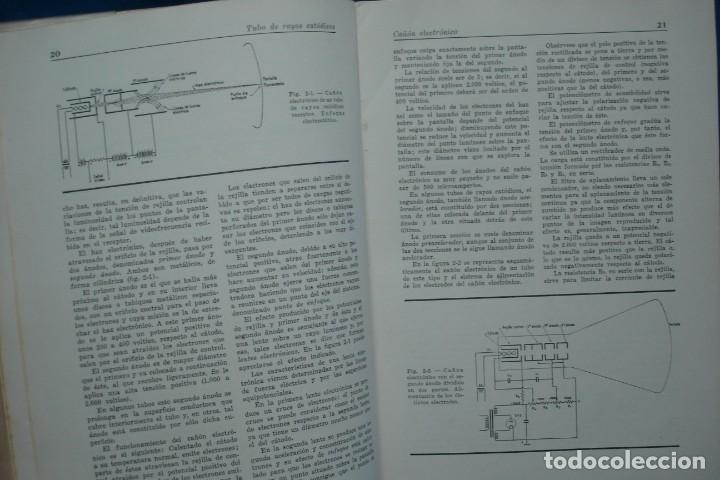 Radios antiguas: TV - CURSO DE TELEVISIÓN INTEPRA - MARCOMBO 2ª EDICIÓN 1960 - Foto 2 - 136361846
