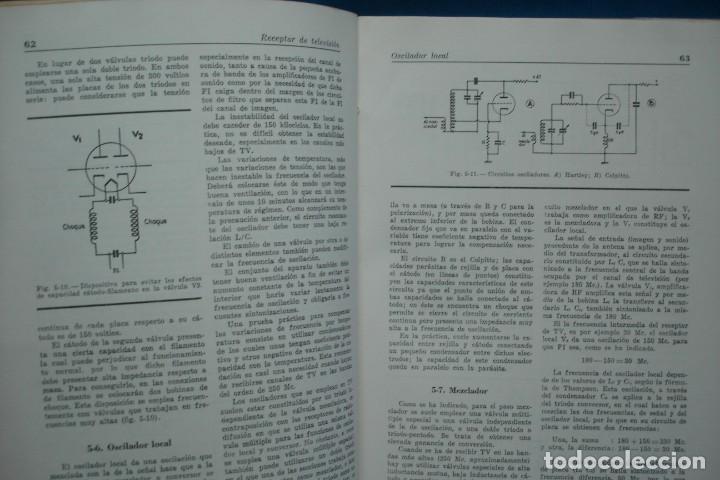 Radios antiguas: TV - CURSO DE TELEVISIÓN INTEPRA - MARCOMBO 2ª EDICIÓN 1960 - Foto 3 - 136361846