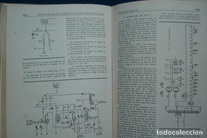 Radios antiguas: TV - CURSO DE TELEVISIÓN INTEPRA - MARCOMBO 2ª EDICIÓN 1960 - Foto 4 - 136361846