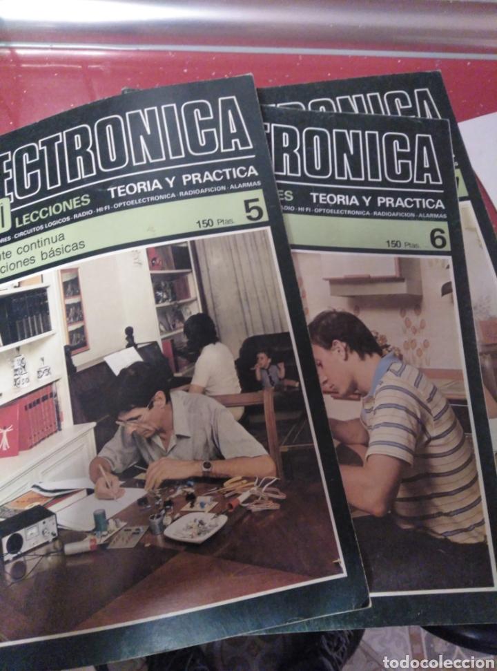 REVISTA DE ELECRONICA ,17 EN TOTAL (Radios, Gramófonos, Grabadoras y Otros - Catálogos, Publicidad y Libros de Radio)