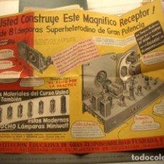 Radios antiguas: PUBLICIDAD ESCUELA RADIO MAYMO. Lote 137799910