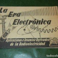 Radios antiguas: LA ERA ELECTRONICA - ESCUELA RADIO MAYMO - HACIA 1960. Lote 137929570