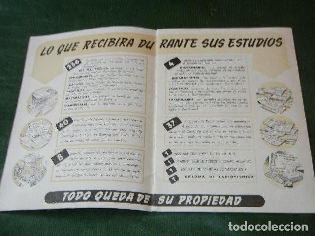 Radios antiguas: AL EXITO POR LA PRACTICA - ESCUELA RADIO MAYMO - 1955 - Foto 2 - 137934470