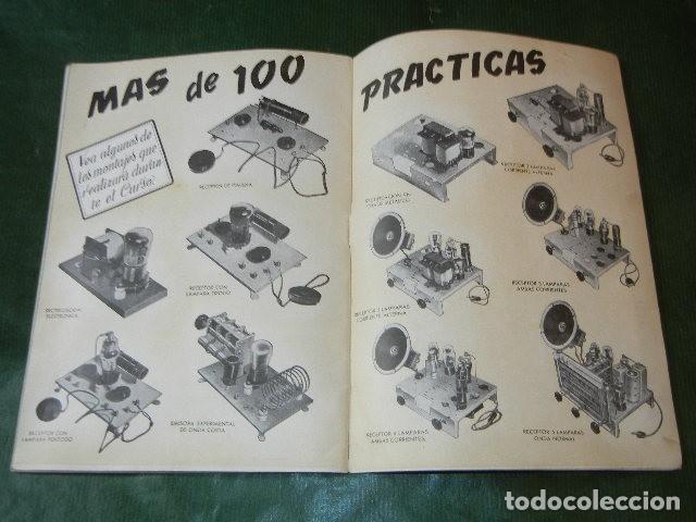 Radios antiguas: AL EXITO POR LA PRACTICA - ESCUELA RADIO MAYMO - 1955 - Foto 5 - 137934470