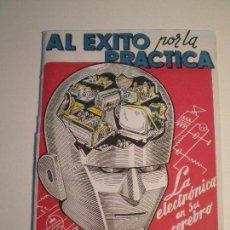 Radios antiguas: ESCUELA RADIO MAYMO - PUBLICIDAD 1958 // 1950S SCI FI B MOVIE SERIE B ROBOT PSYCHOBILLY PSYCHOTRONIC. Lote 141341942