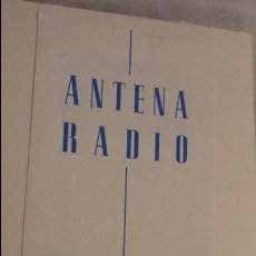 Radios antiguas - ANTIGUO FOLLETO CATALOGO.ANTENA RADIO. SEVILLA - 141419778