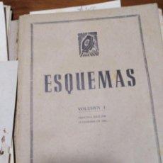 Radios antiguas: LIBRO ANTIGUO RARO ESQUEMAS 1 CURSO DE RADIO 1946. Lote 141504330
