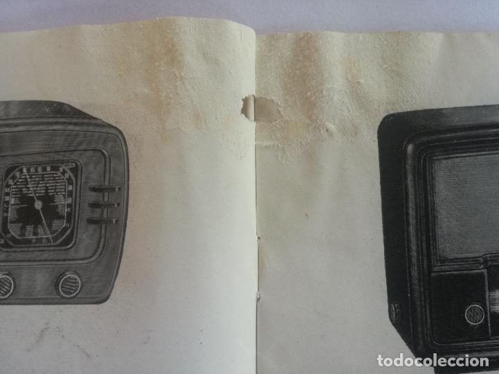 Radios antiguas: MODELOS DE RECEPTORES Y RADIOGRAMOLAS PARA 1949 ANTIGUA CASA BRUNET - ANTIGUO CATALOGO RADIOS - Foto 4 - 142701302