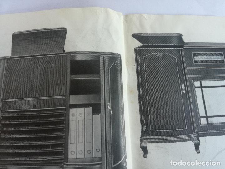 Radios antiguas: MODELOS DE RECEPTORES Y RADIOGRAMOLAS PARA 1949 ANTIGUA CASA BRUNET - ANTIGUO CATALOGO RADIOS - Foto 15 - 142701302