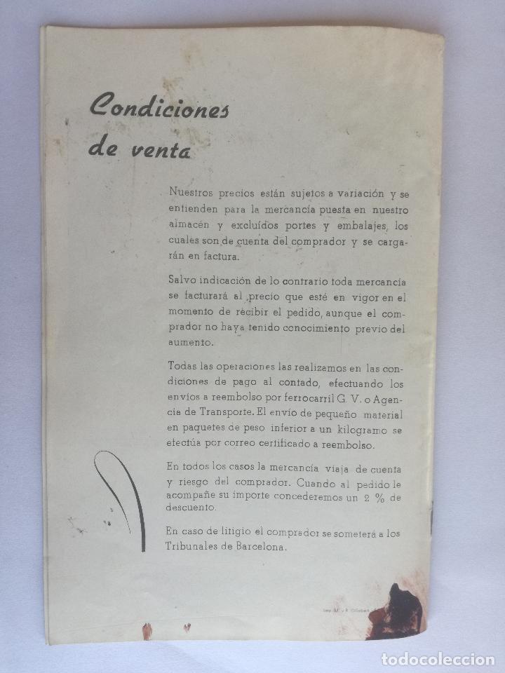 Radios antiguas: MODELOS DE RECEPTORES Y RADIOGRAMOLAS PARA 1949 ANTIGUA CASA BRUNET - ANTIGUO CATALOGO RADIOS - Foto 16 - 142701302
