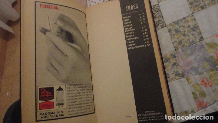 Radios antiguas: TUBES.TUBE AND TRANSISTOR HANDBOOK.RADIO BULLETIN 1964 - Foto 2 - 142810266