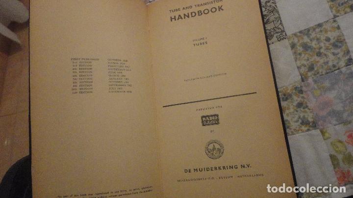 Radios antiguas: TUBES.TUBE AND TRANSISTOR HANDBOOK.RADIO BULLETIN 1964 - Foto 4 - 142810266