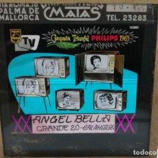 Radios antiguas: PHILIPS DIAPOSITIVA CRISTAL PUBLICIDAD PARA EL CINE .TELEVISIONES 1963. ANGEL BELLA CALAHORRA. Lote 144892270