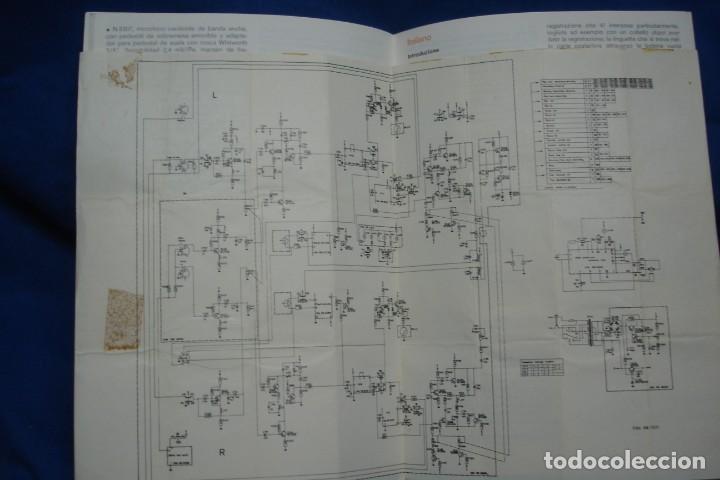 Radios antiguas: -INSTRUCCIONES DE MANEJO DEL MAGNETÓFONO DE CASSETTE PHILIPS N 2520 + ESQUEMA - Foto 2 - 145011042