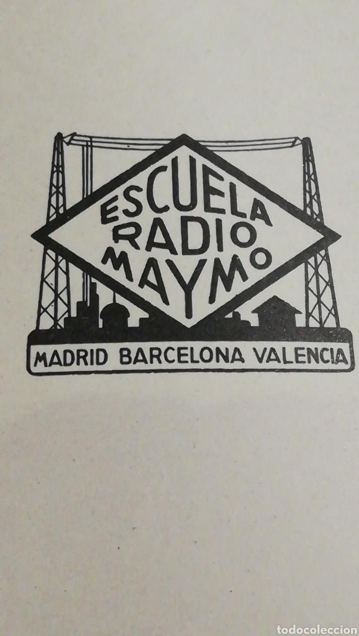 Radios antiguas: Escuela de radio Maymo N62 - Foto 2 - 145411553