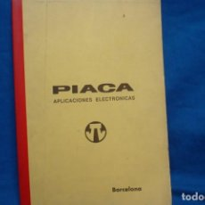 Radios antiguas: ESQUEMAS DE TRANSFORMADORES LINEA MAT - PIACA APLICACIONES ELECTRÓNICAS. Lote 145542626