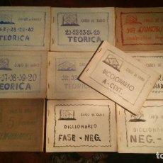 Radios antiguas: CURSO DE RADIO POR CORRESPONDENCIA POR FERNANDO MAYMO. Lote 146065234