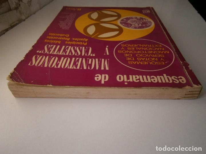 Radios antiguas: ESQUEMARIOS DE MAGNETOFONOS Y CASSETTES II AJUSTES REPARACION GRABACION REDE 1973 - Foto 7 - 146377470
