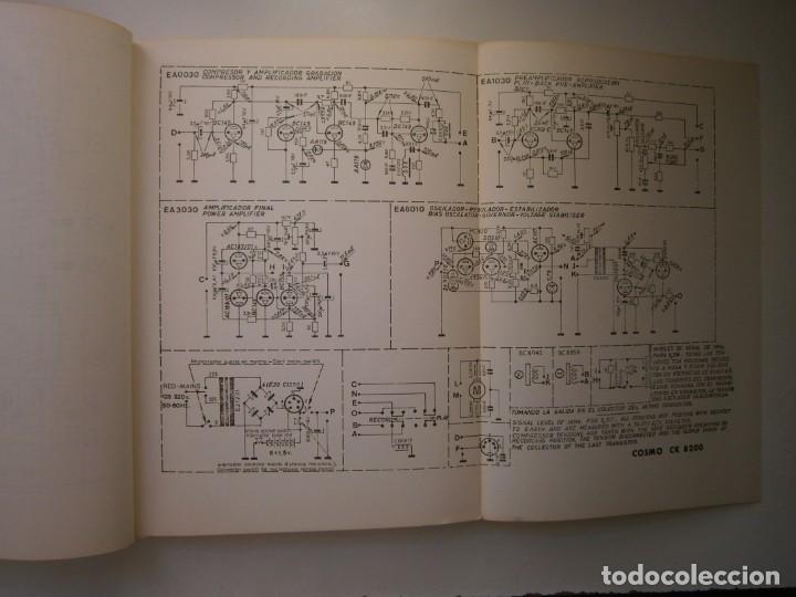 Radios antiguas: ESQUEMARIOS DE MAGNETOFONOS Y CASSETTES II AJUSTES REPARACION GRABACION REDE 1973 - Foto 16 - 146377470