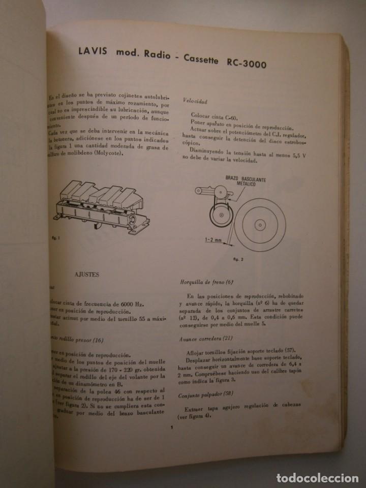Radios antiguas: ESQUEMARIOS DE MAGNETOFONOS Y CASSETTES II AJUSTES REPARACION GRABACION REDE 1973 - Foto 18 - 146377470