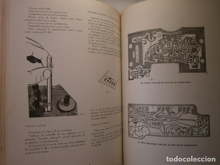 Radios antiguas: ESQUEMARIOS DE MAGNETOFONOS Y CASSETTES II AJUSTES REPARACION GRABACION REDE 1973 - Foto 19 - 146377470