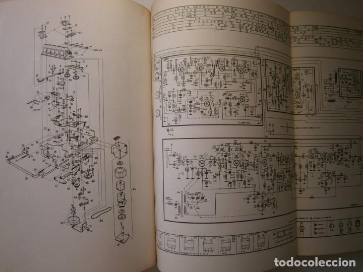 Radios antiguas: ESQUEMARIOS DE MAGNETOFONOS Y CASSETTES II AJUSTES REPARACION GRABACION REDE 1973 - Foto 20 - 146377470