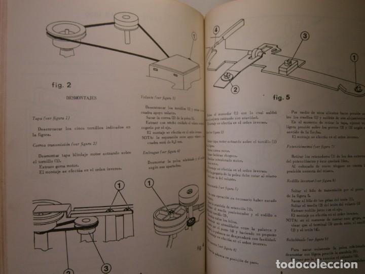 Radios antiguas: ESQUEMARIOS DE MAGNETOFONOS Y CASSETTES II AJUSTES REPARACION GRABACION REDE 1973 - Foto 21 - 146377470