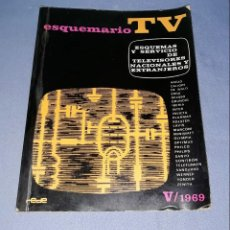 Radios antiguas: ANTIGUO LIBRO ESQUEMARIO TV DE EDICIONES TECNICAS REDE AÑO 1964 TOMO V VER FOTO. Lote 146990118