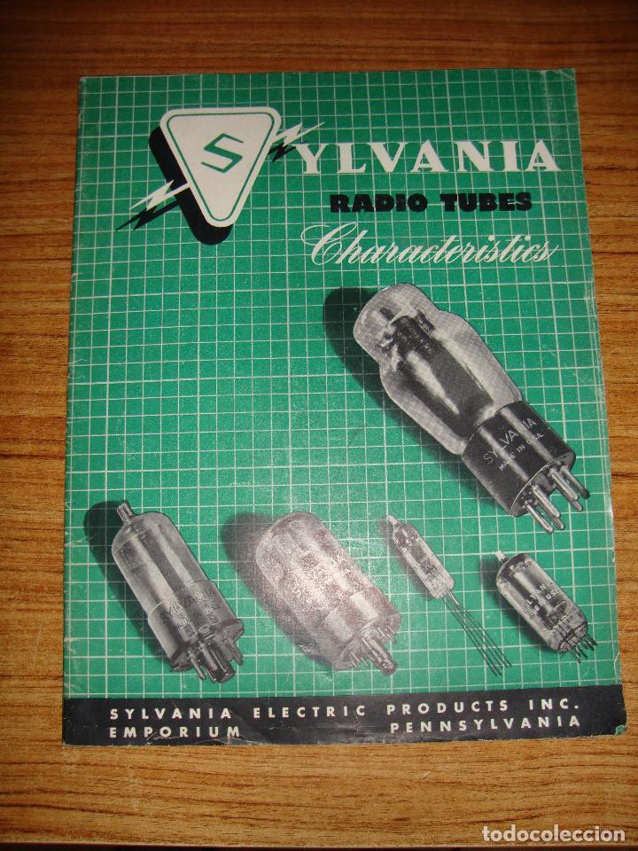 (TC-133) ANTIGUO CATALOGO SYLVANIA RADIO TUBES 1950 (Radios, Gramófonos, Grabadoras y Otros - Catálogos, Publicidad y Libros de Radio)