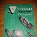Radios antiguas: (TC-133) ANTIGUO CATALOGO SYLVANIA RADIO TUBES 1950. Lote 147953078