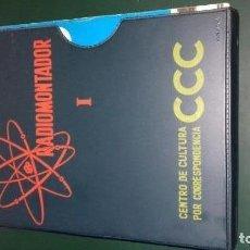 Radios antiguas: CURSO CCC DE RADIOMONTADOR. Lote 149712966