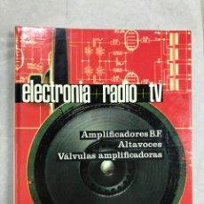 Radios antiguas: ELECTROTECNIA RADIO TV TOMO IV - EDICIONES AFHA. Lote 150485022