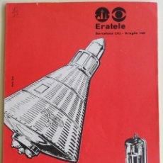 Radios antiguas: 33 CUADERNILLOS - CURSO RADIO POR CORREPONDENCIA - ERATELE. Lote 152633922
