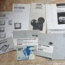 Radios antiguas: LOTE DE LIBROS INSTRUCCIONES TV CASSETTE SUPER 8 AÑOS 70-80. Lote 153944944