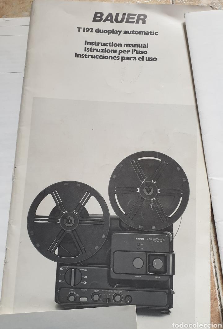 Radios antiguas: LOTE DE LIBROS INSTRUCCIONES TV CASSETTE SUPER 8 AÑOS 70-80 - Foto 6 - 153944944